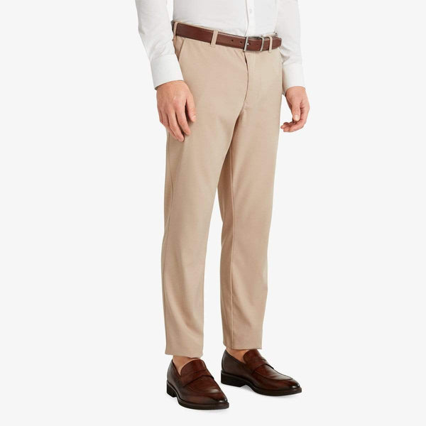 Mizzen & Main Trousers Baron- Sand Solid Chino