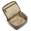 Moore & Giles Luggage Moore & Giles- Donald Wash Kit Brompton Brown