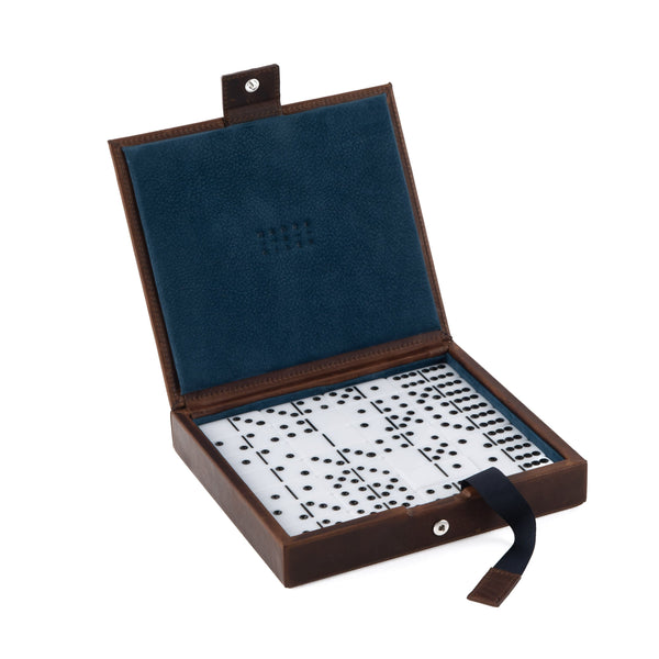 Moore & Giles Small Leather Goods Moore & Giles- Domino Set