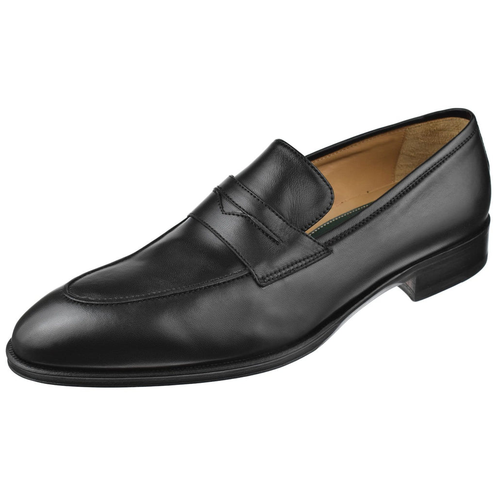 Pastori Shoes Pastori Men's Titus Dress Penny Titus-Black