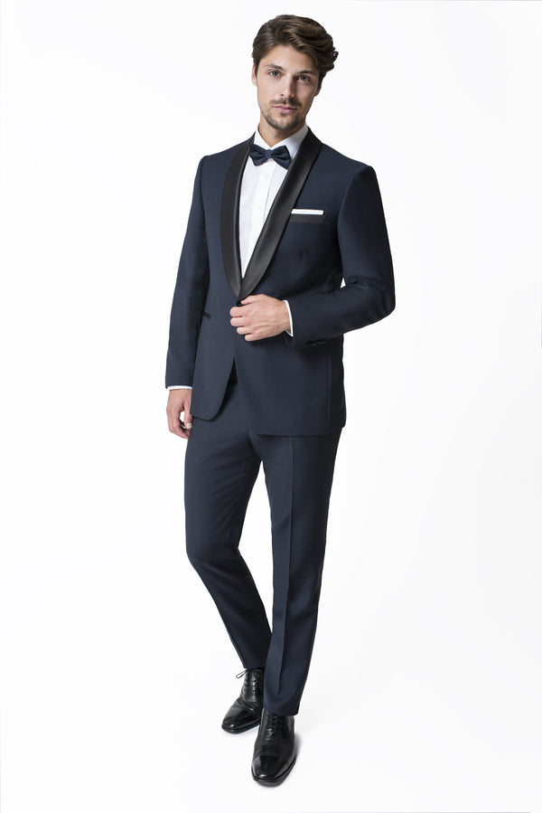 Paul Betenly Formal Wear Davis Slim Fit Midnight Shawl Lapel Tuxedo