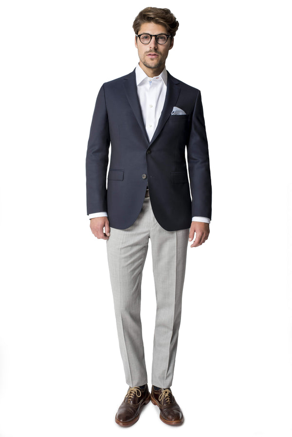 Paul Betenly Sport Coats Ronaldo Slim Fit Navy Blazer
