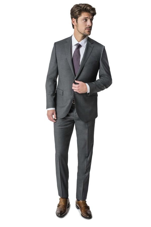 Paul Betenly Suits Ronaldo Slim Fit Charcoal Suit