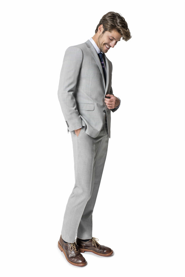 Paul Betenly Suits Thomas Classic Fit Pearl Grey Suit