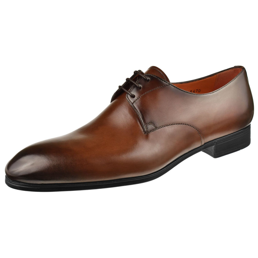 Santoni Shoes Santoni Induct Oxford Induct-Brown