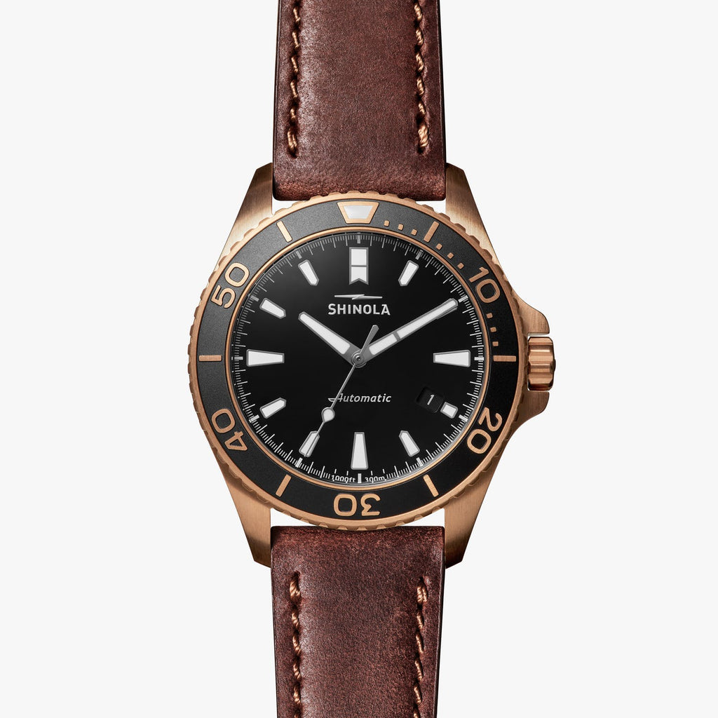 Shinola Watches The Bronze Monster Automatic 43MM