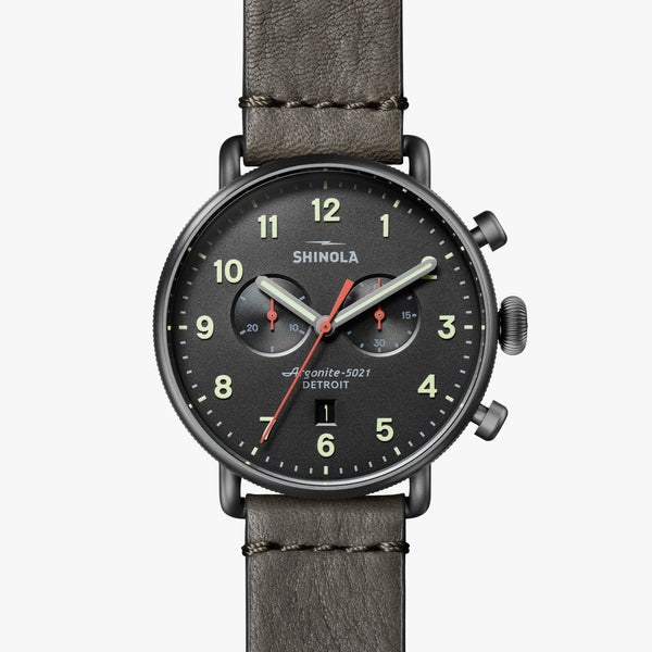 Shinola Watches The Canfield Chrono 43 MM