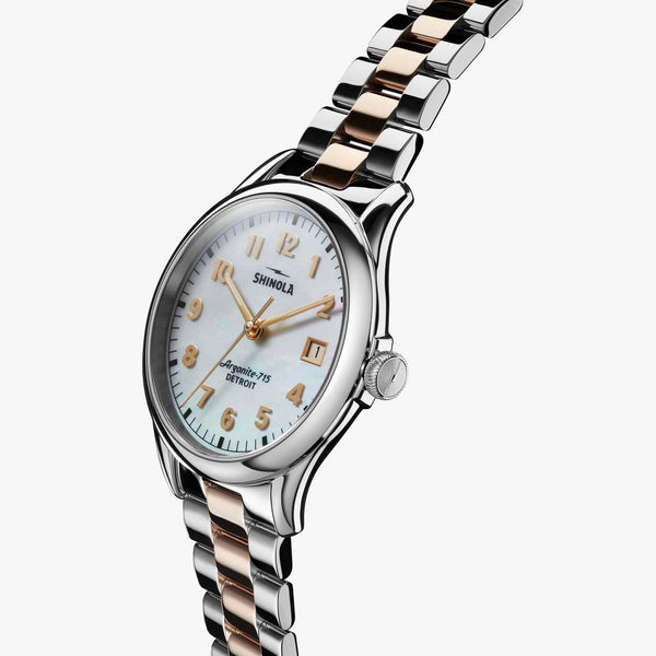 Shinola Watches The Vinton 38MM Mother of Pearl Dial