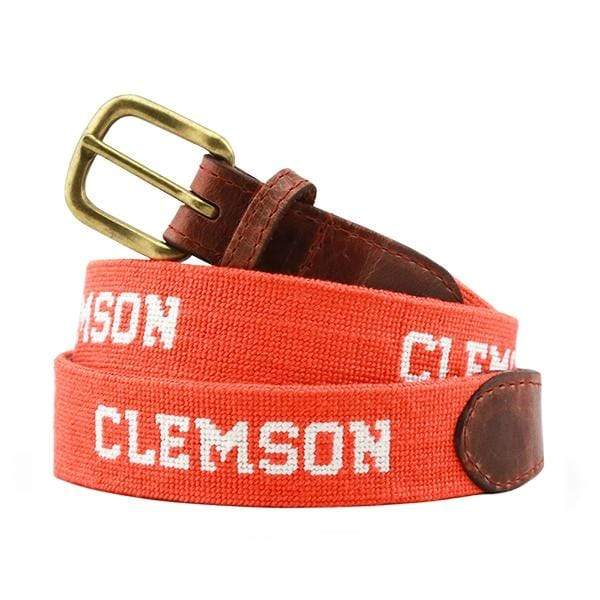 Smathers & Branson Belt Clemson Needlepoint Belt