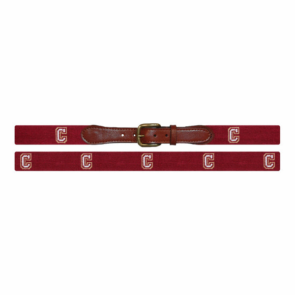 Smathers & Branson Belt College of Charleston Needlepoint Belt