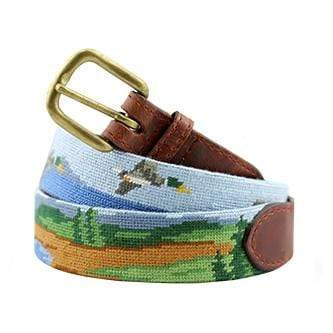 Smathers & Branson Belt Great Outdoors Needlepoint Belt