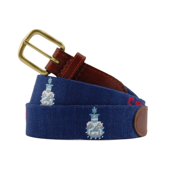 Smathers & Branson Belt The Citadel Needlepoint Belt