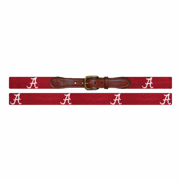 Smathers & Branson Belt University of Alabama Needlepoint Belt