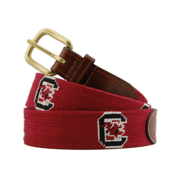 Smathers & Branson Belt University of South Carolina Needlepoint Belt