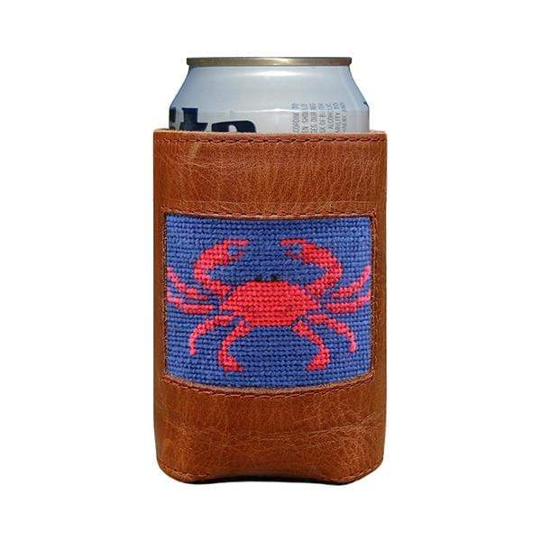 Smathers & Branson Small Leather Goods Crab Can Cooler