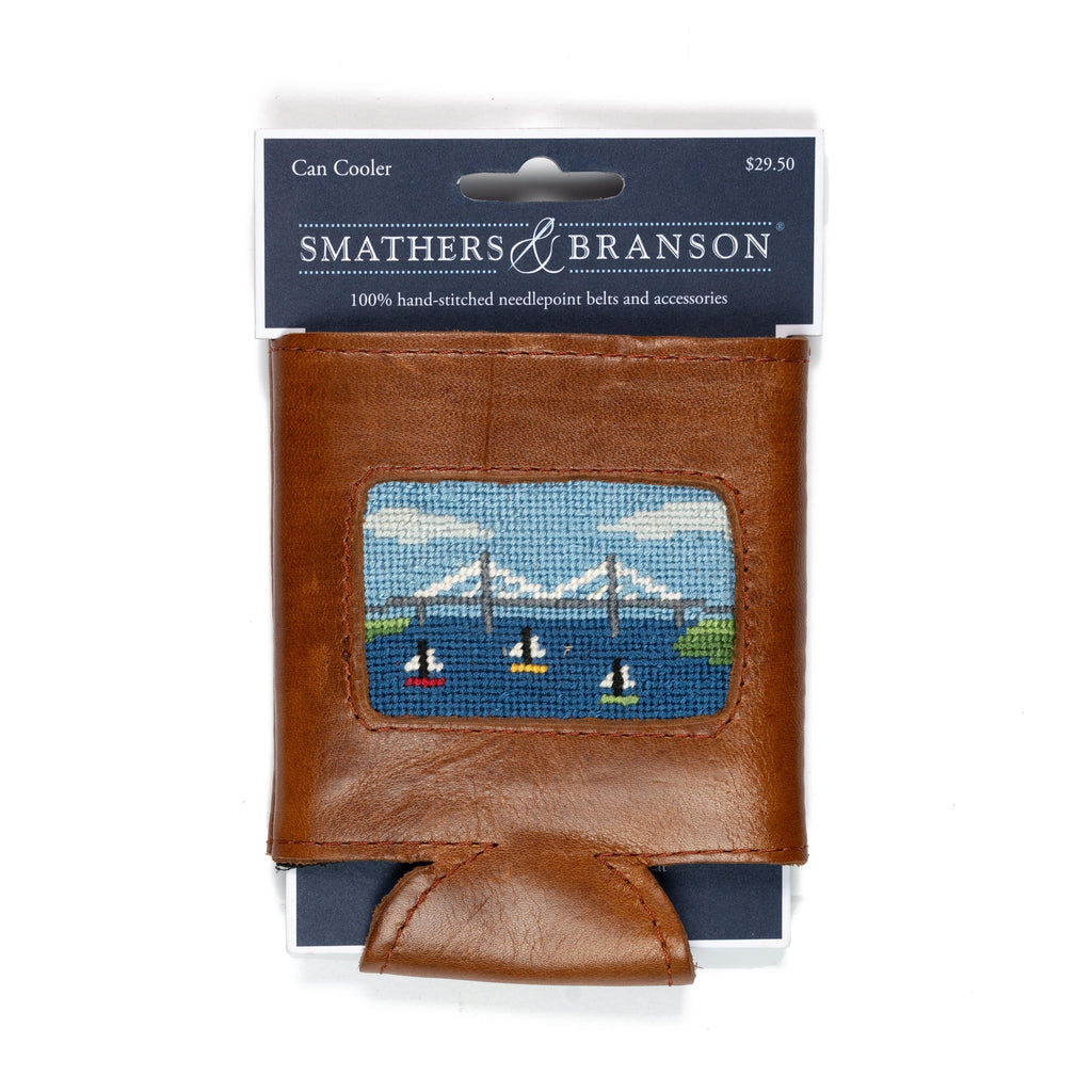 Smathers & Branson Small Leather Goods Ravanel Bridge Can Cooler