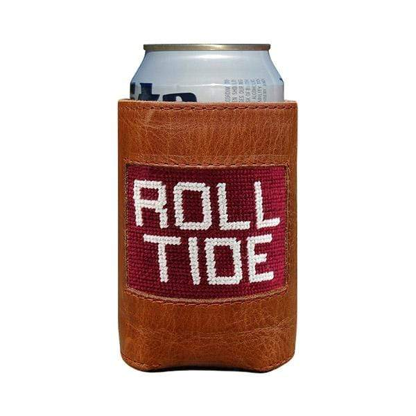 Smathers & Branson Small Leather Goods Roll Tide Can Cooler