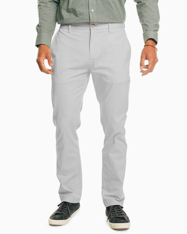Southern Tide Trousers The New Channel Marker Chino Pant- Seagull Grey
