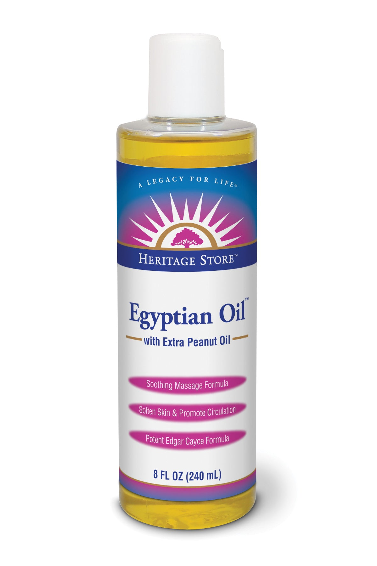 Egyptian Oil W/extra Peanut Oil - 8oz