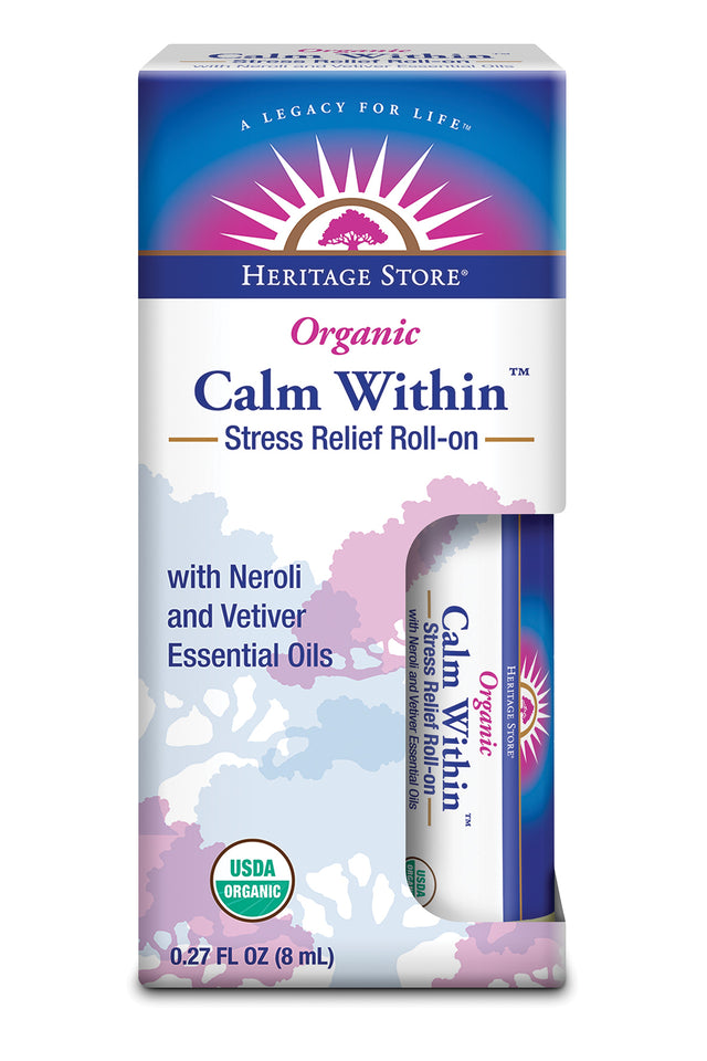 Calm Within Roll-On - Stress Relief
