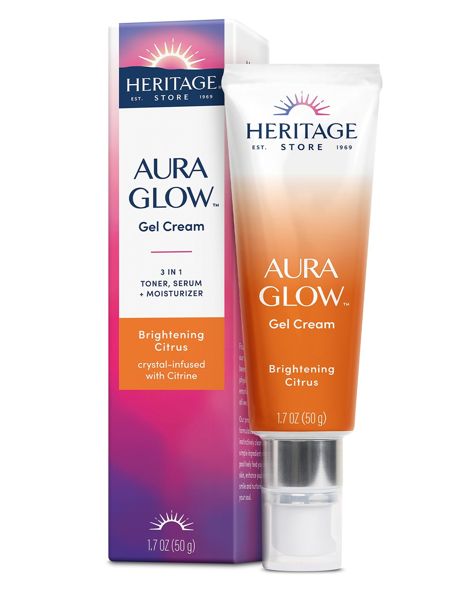 Aura Glow Gel Cream, Brightening Citrus