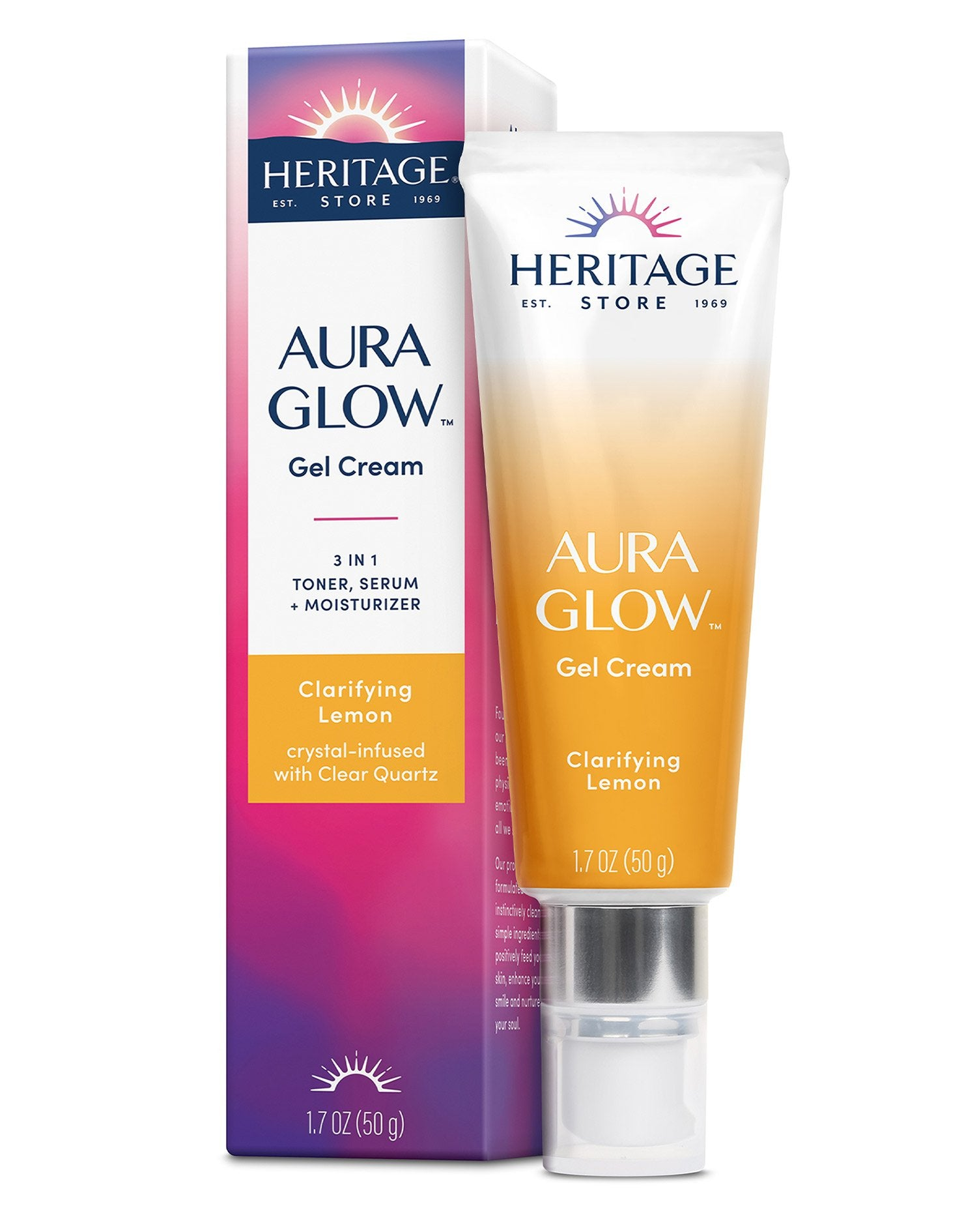 Aura Glow Gel Cream, Clarifying Lemon