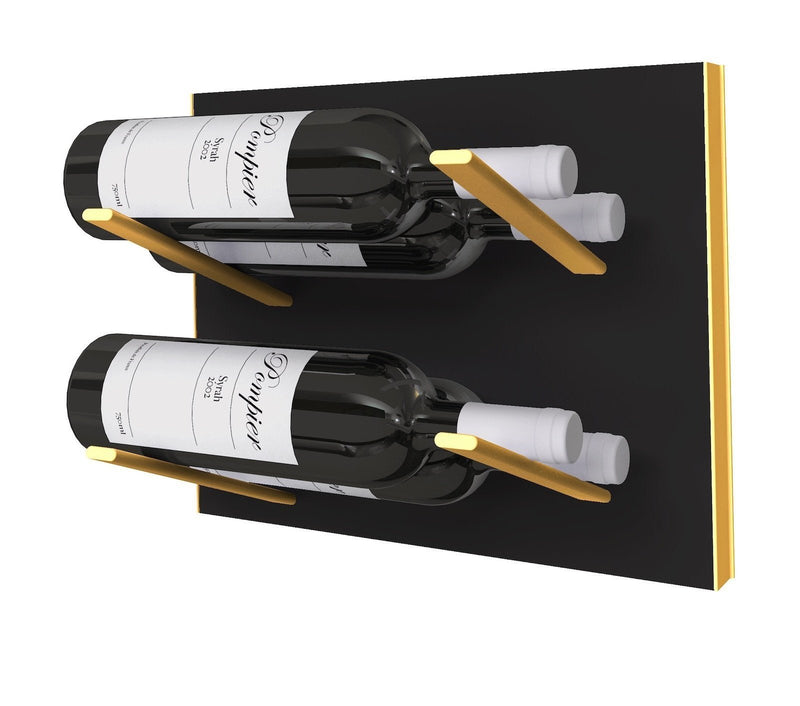 STACT Premier L-type weinregal - Schwarz & Gold