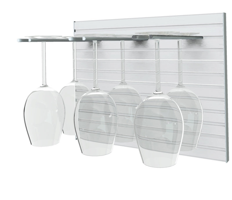STACT Pro Glashalter Paneel  - Silber