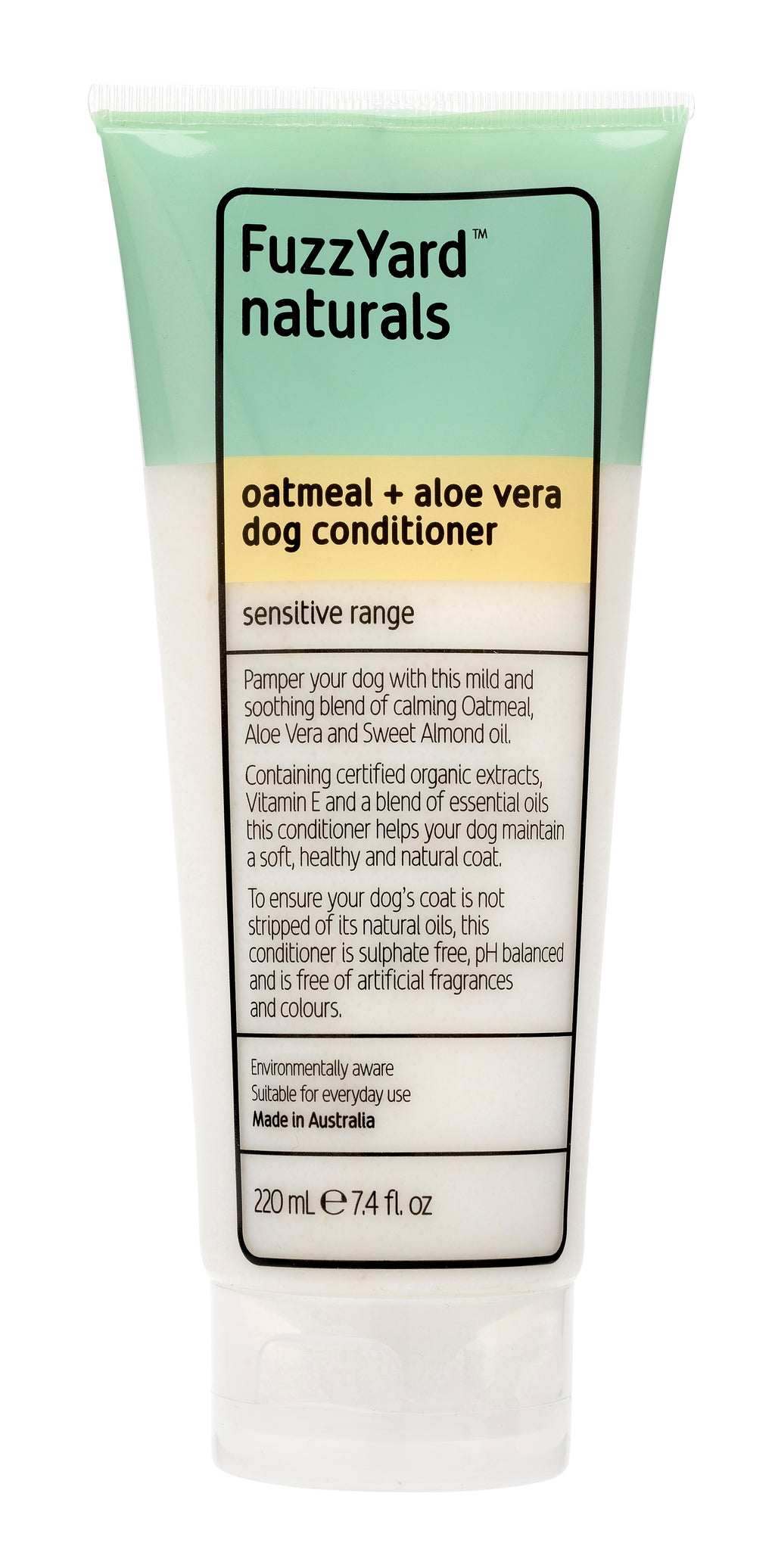 Sensitive Dog Conditioner Oatmeal + Aloe Vera 220 ml