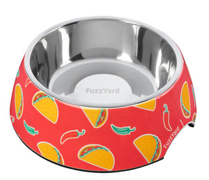 Spicy Taco Easy Feeder Pet Bowl