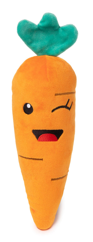 Winky Carrot Dog Toy