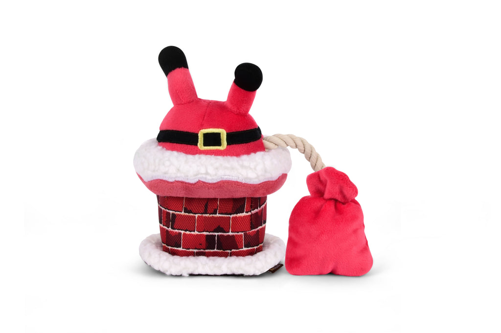 Christmas Clumsy Claus Dog Toy