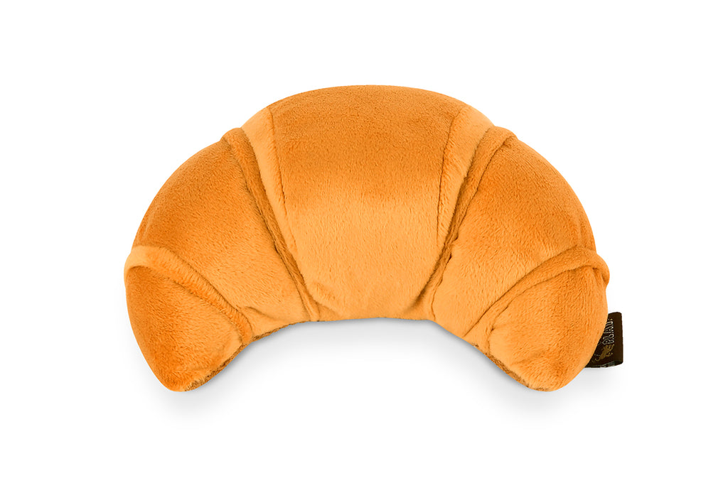 Barking Brunch Pup's Croissant Plush Dog Toy