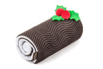 Christmas Yule Log Plush Dog Toy