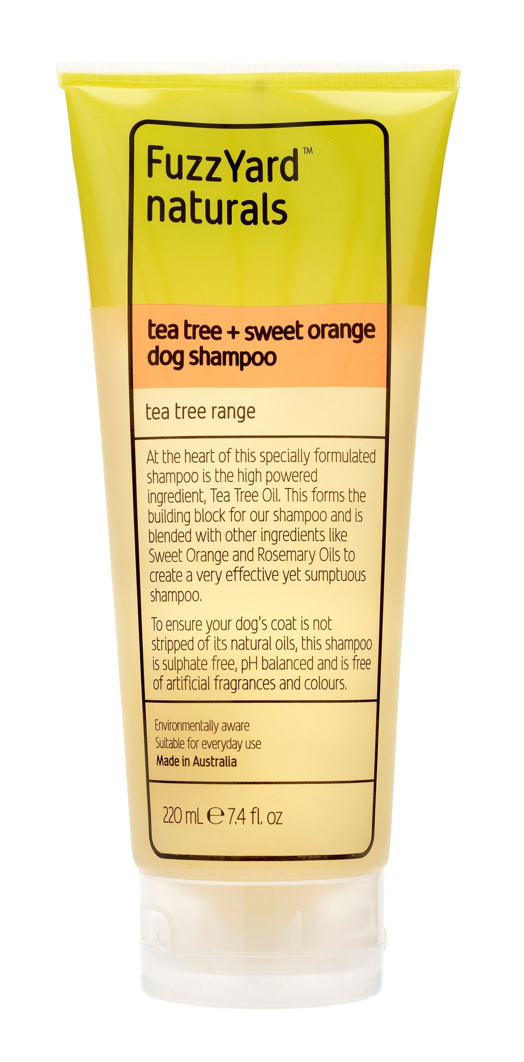 Tea Tree & Sweet Orange Dog Shampoo 220ml
