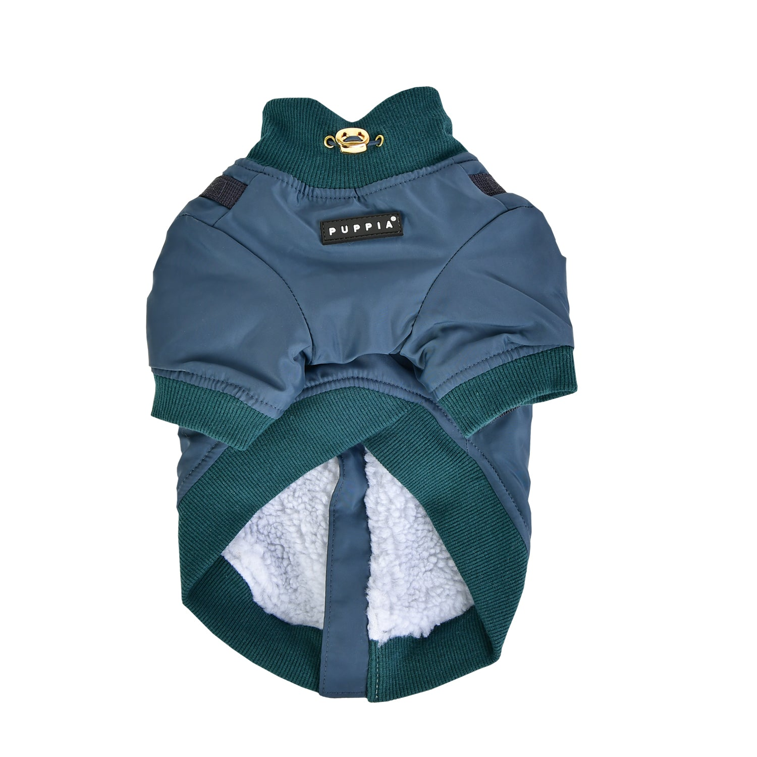 Puppia Coat Dominic Dark Teal