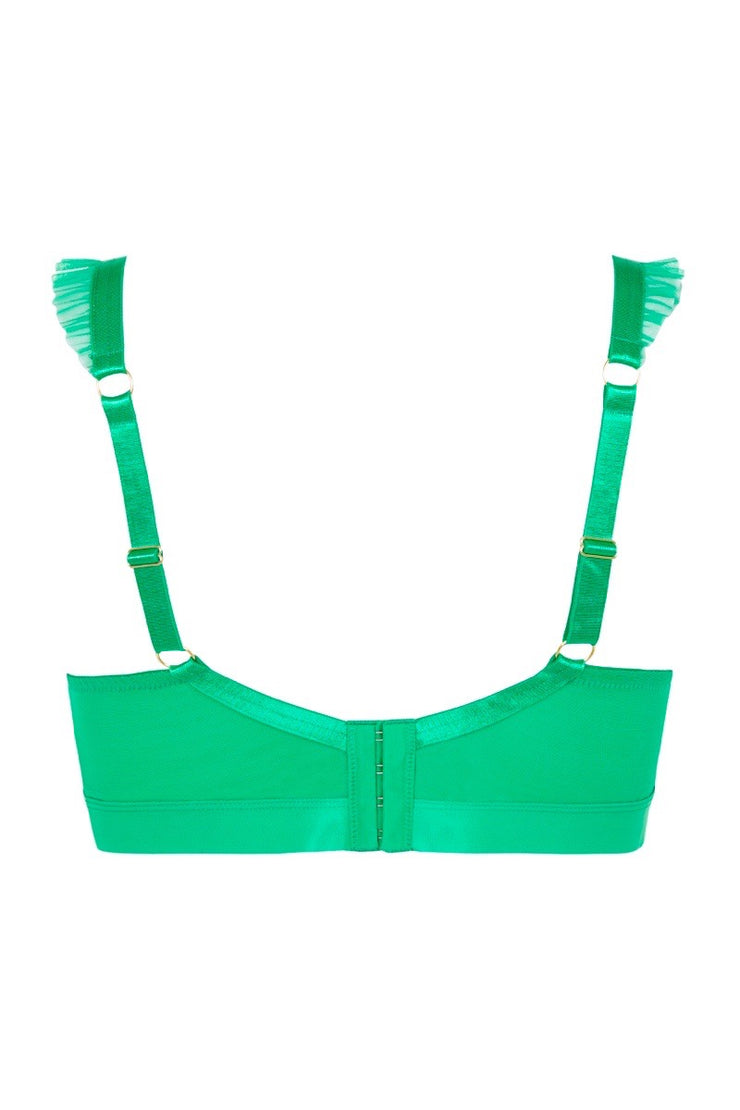 BUSTED Royal Bra - Emerald