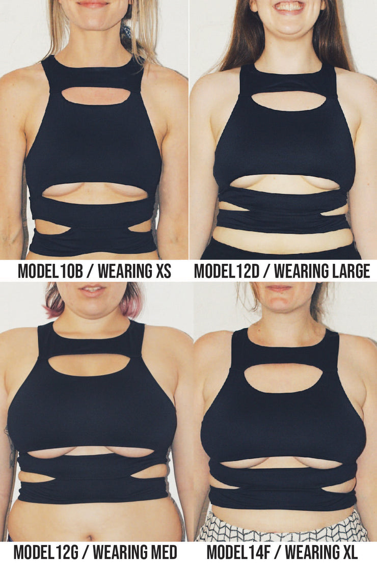 Sleek Swim Crop