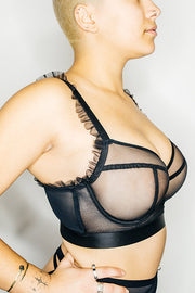 BUSTED Royal Bra - Black