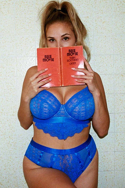 BUSTED Dreamin' Bra - Blue