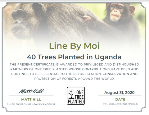 donation to one tree planted