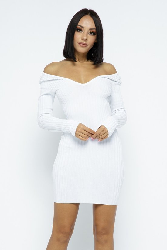 THE FLAUNTING RIBBED DRESS
