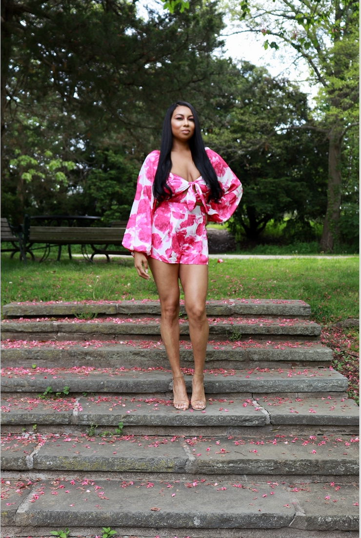 THE AZALEA FUSCHIA SHORT SET