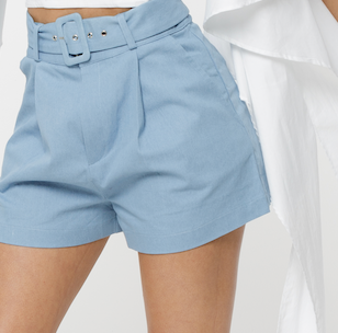 THE SERENITY SKY BLUE SHORTS