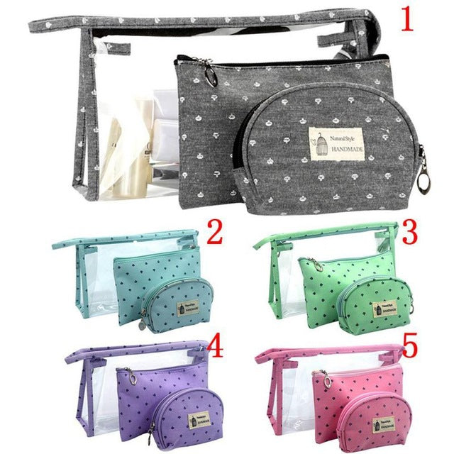 Fashion Brand Cosmetic Bags Waterproof Portable