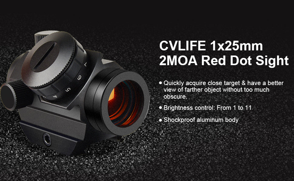 Best 2MOA Red Dot Sight with Unbeatable Price