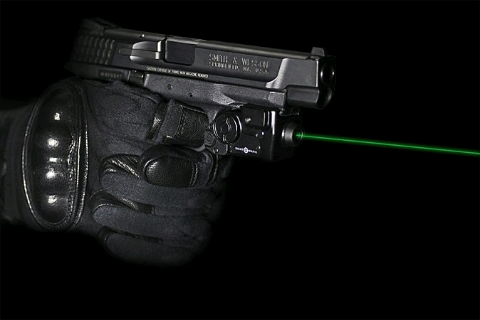 handgun laser sight