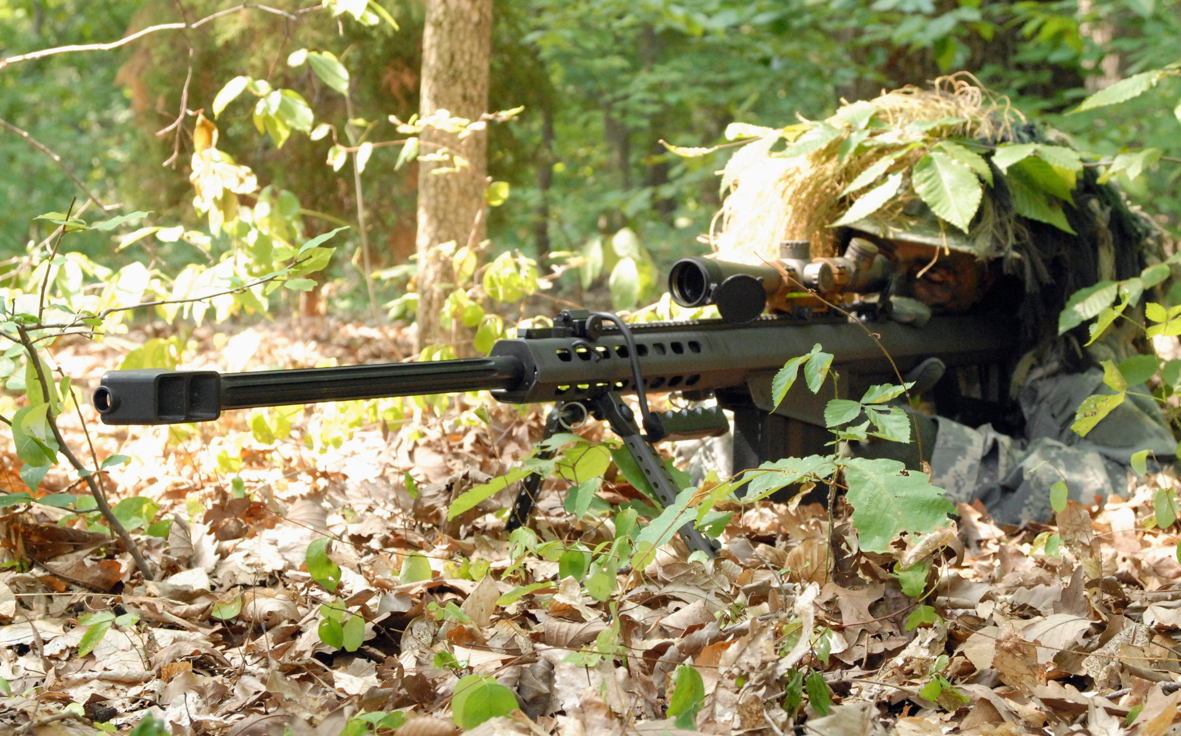 hunting with rifle bipod