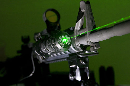green laser sight