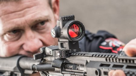 red dot sight for rifles